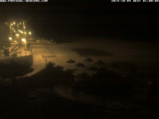 Webcam Salema Algarve Portugal 01am
