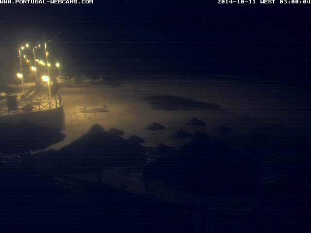 Webcam Salema Algarve Portugal 03am