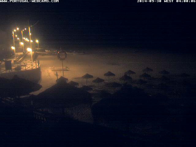 Webcam Salema Algarve Portugal 04am