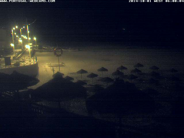 Webcam Salema Algarve Portugal 06am