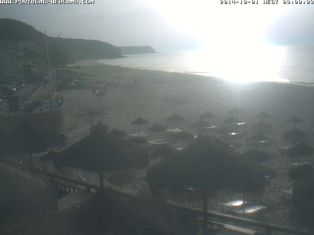 Webcam Salema Algarve Portugal 09am