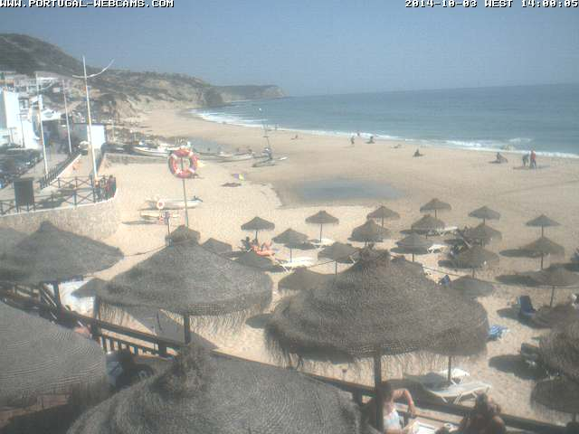 Webcam Salema Algarve Portugal 02pm