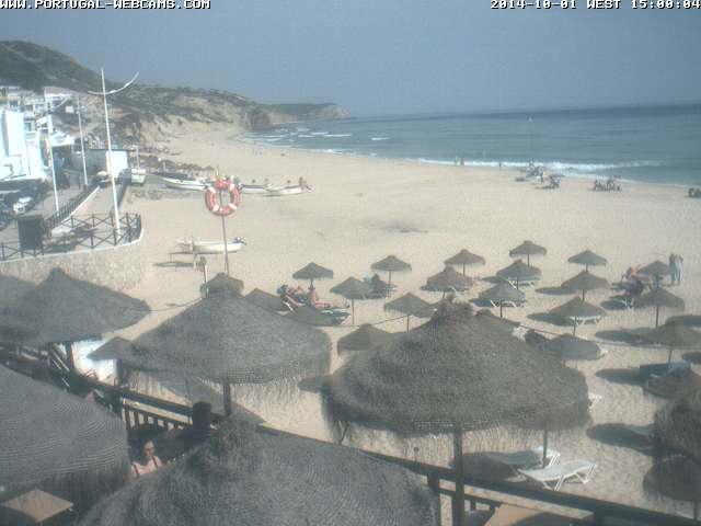 Webcam Salema Algarve Portugal 03pm