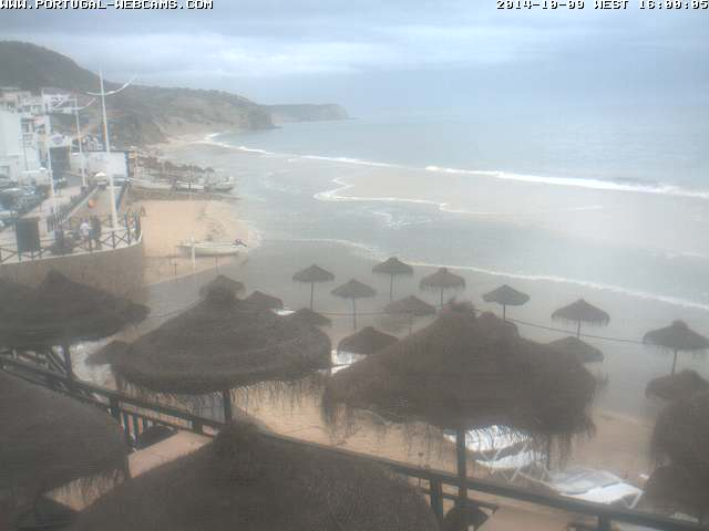 Webcam Salema Algarve Portugal 04pm