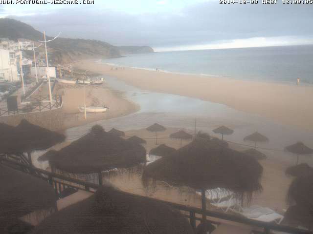 Webcam Salema Algarve Portugal 06pm