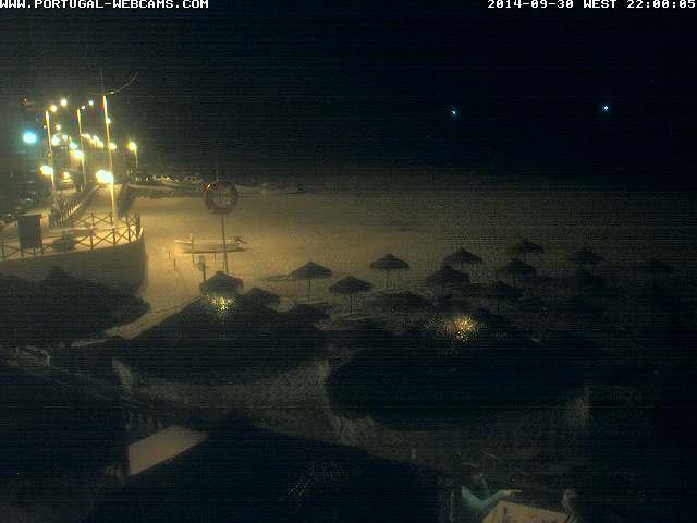 Webcam Salema Algarve Portugal 10pm