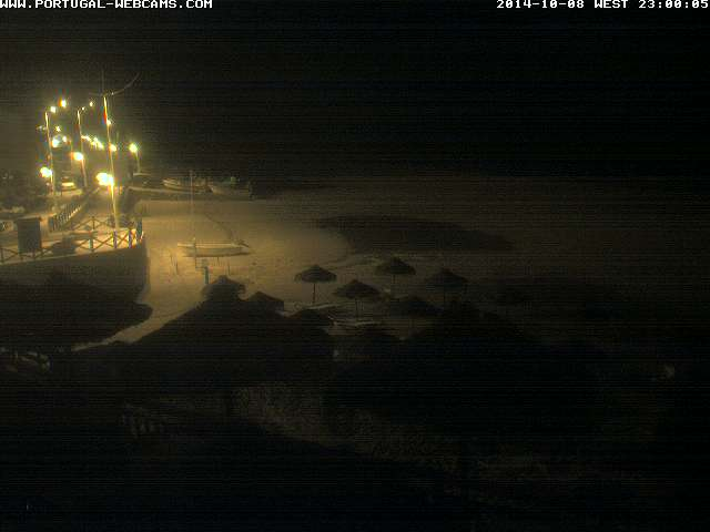 Webcam Salema Algarve Portugal 11pm