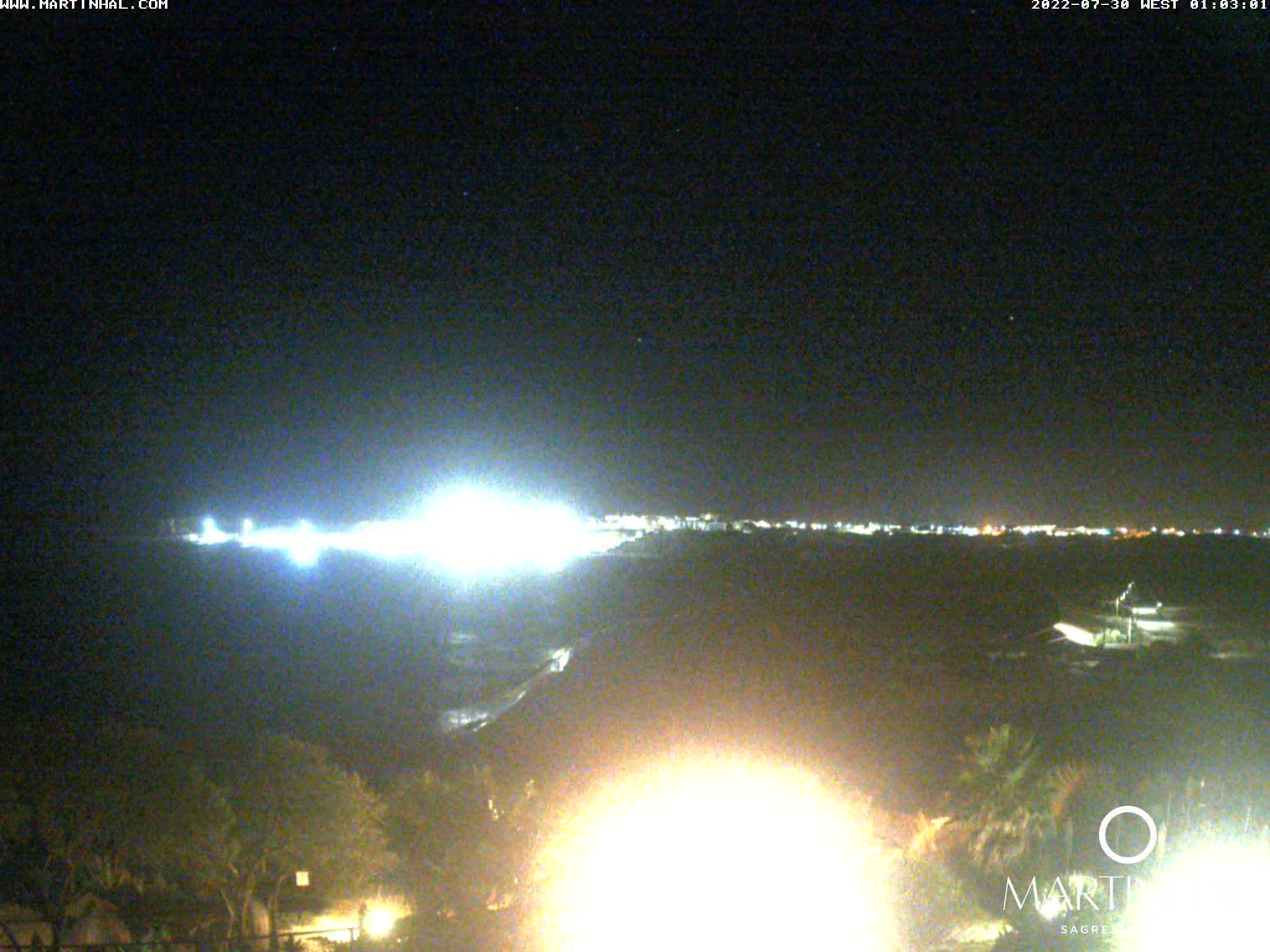 Webcam Sagres Algarve Portugal 1am