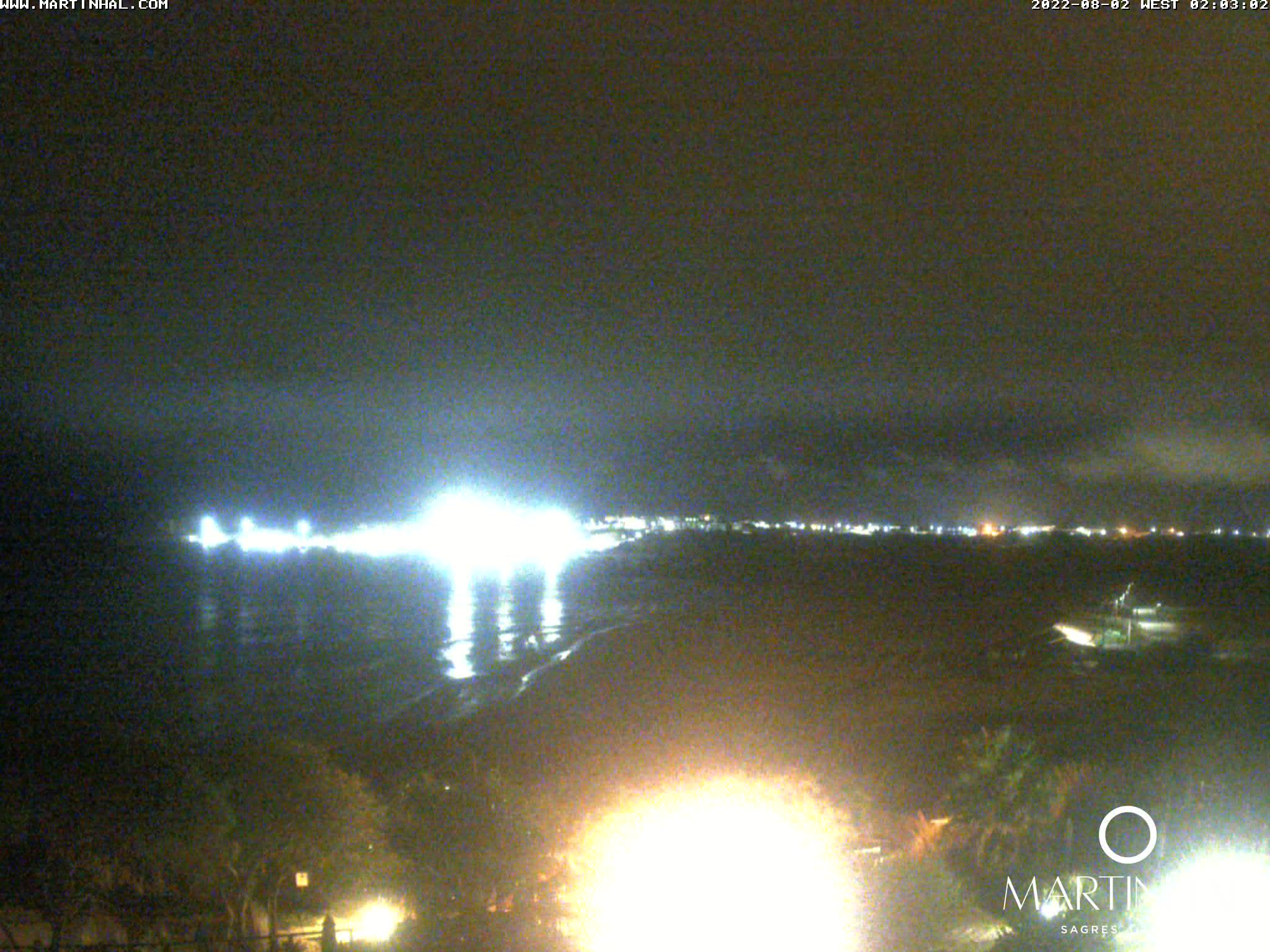 Webcam Sagres Algarve Portugal 2am