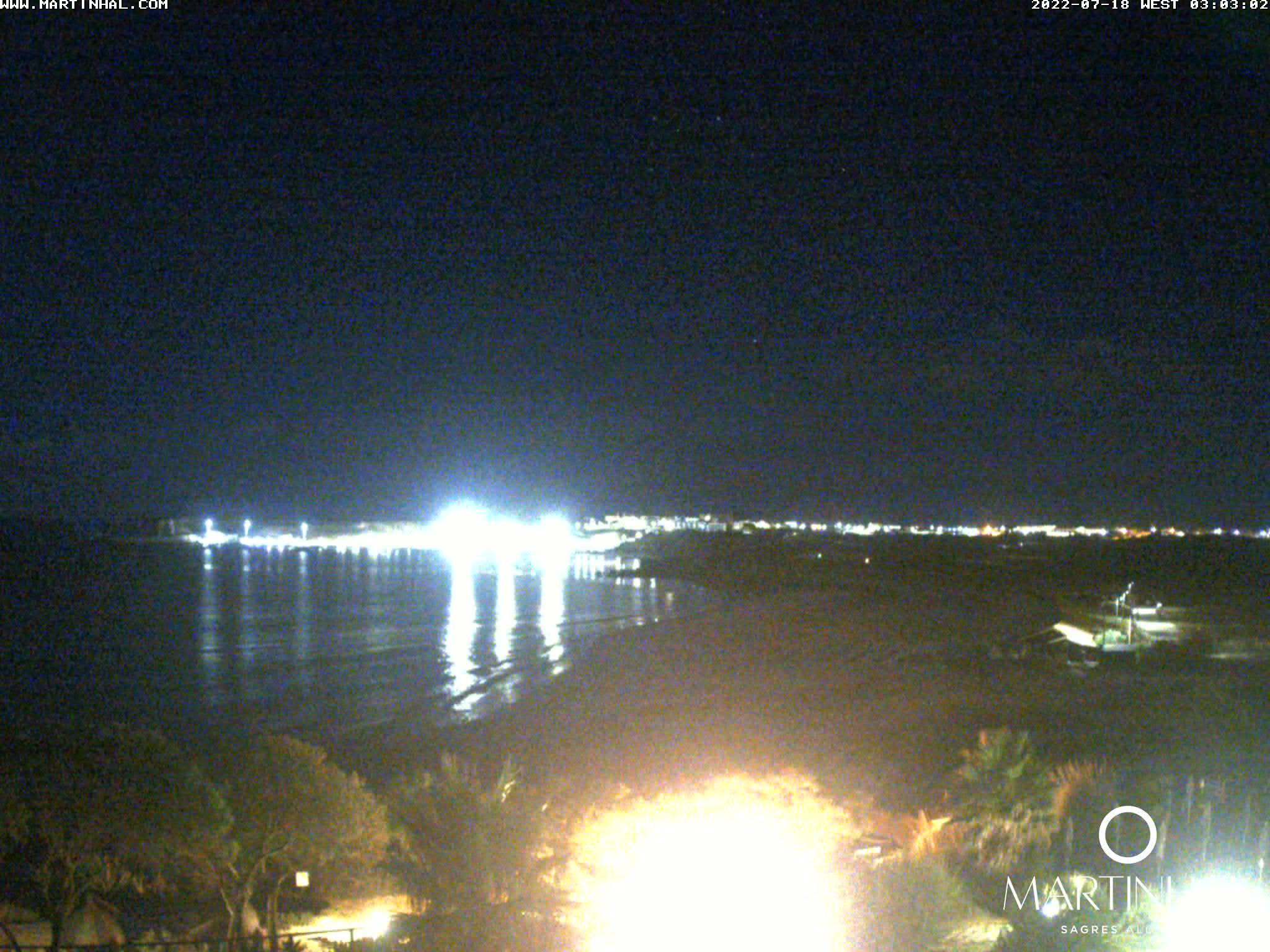 Webcam Sagres Algarve Portugal 3am