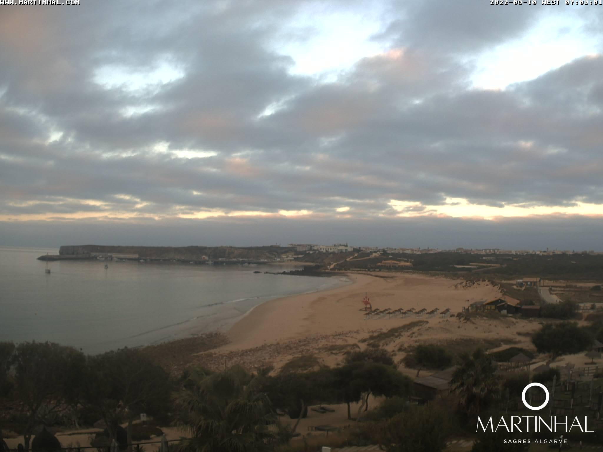 Webcam Sagres Algarve Portugal 7am