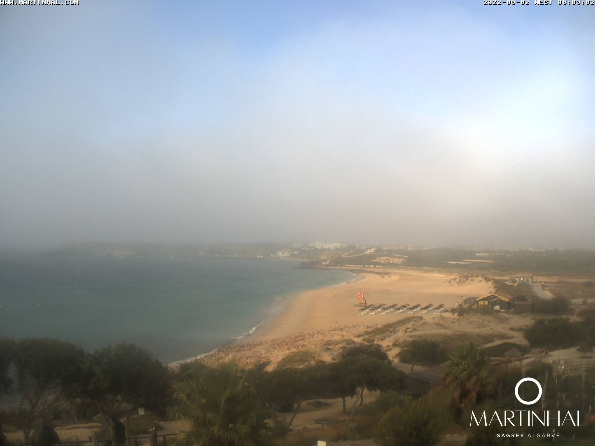 Webcam Sagres Algarve Portugal 8am