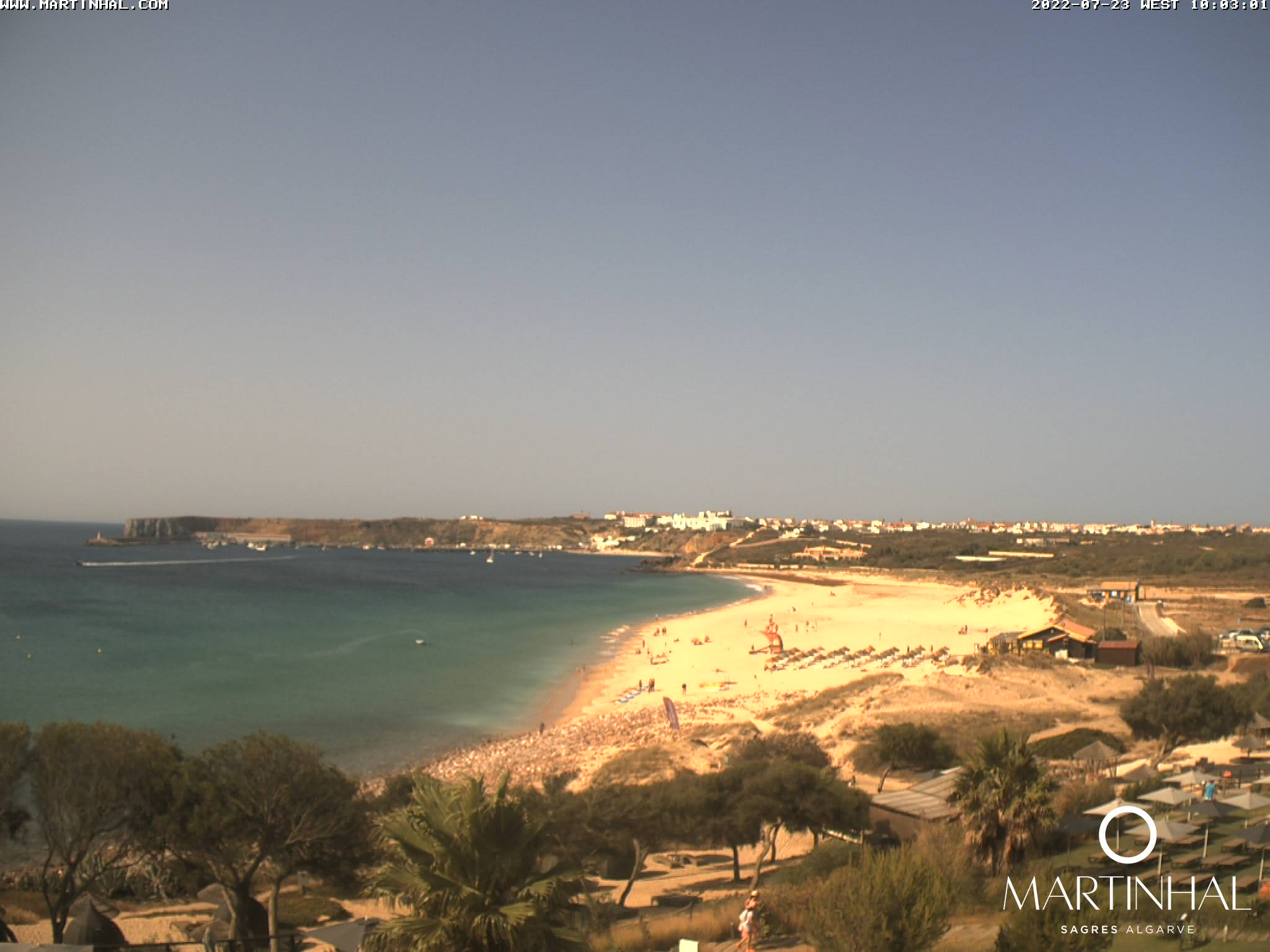 Webcam Sagres Algarve Portugal 10am