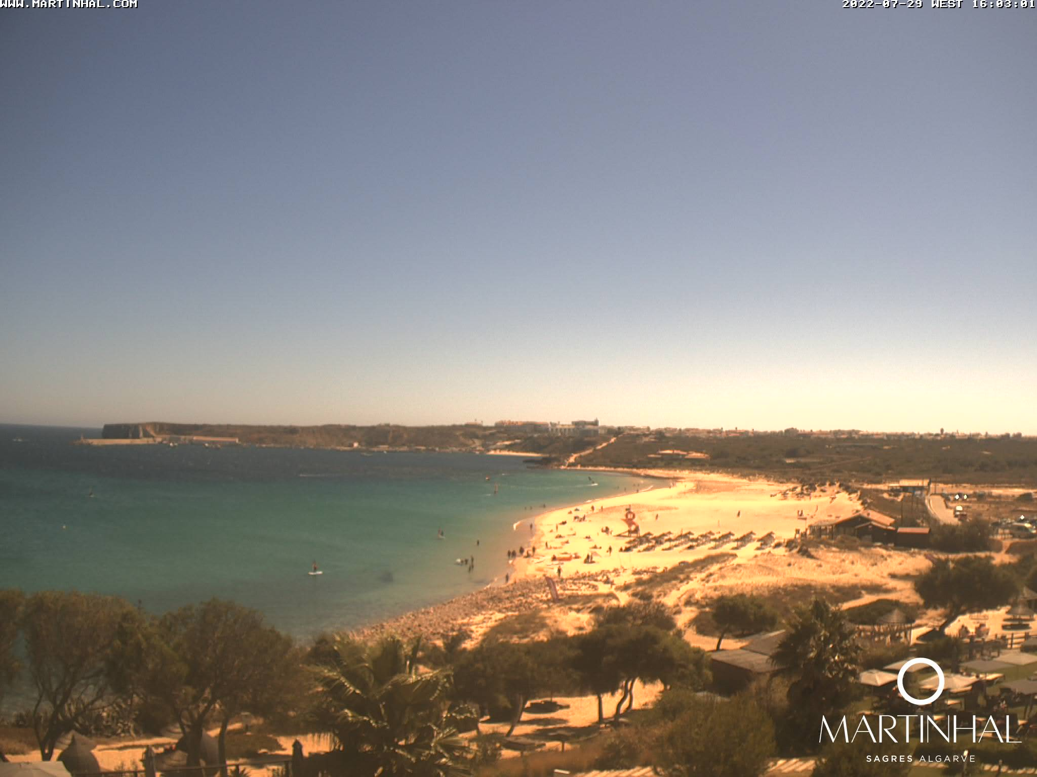 Webcam Sagres Algarve Portugal 4pm