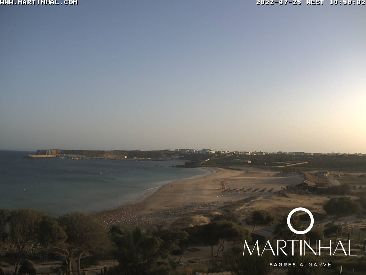 Webcam Martinhal Beach Sagres Portugal Live webcamera